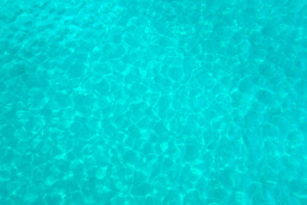 Türkisfarbenes Meer in Kroatien