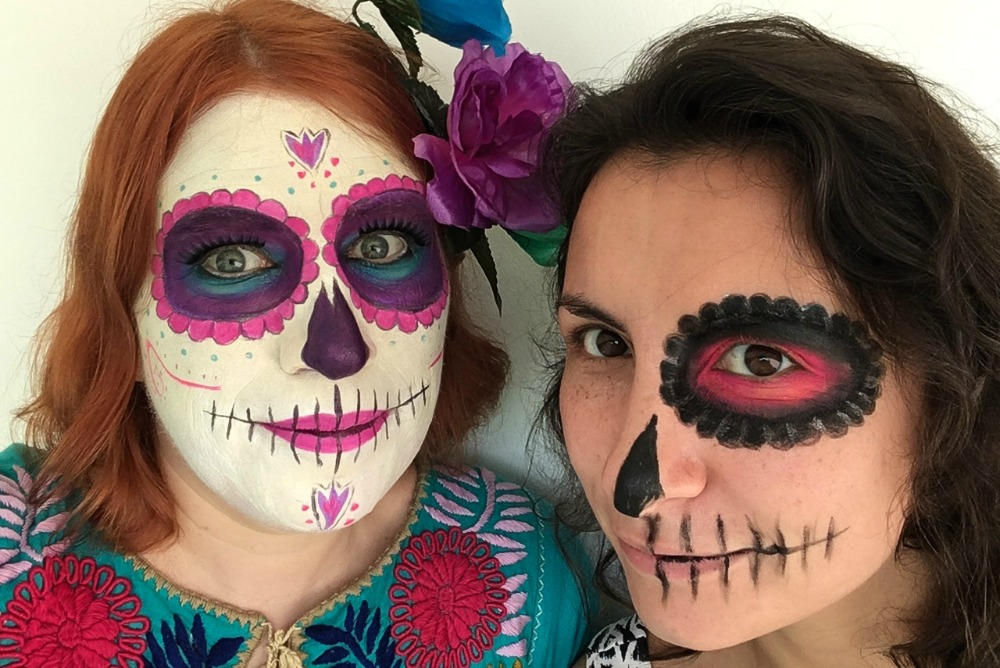 Reiseblogger Anja Beckmann beim Day of the Dead in Mexiko