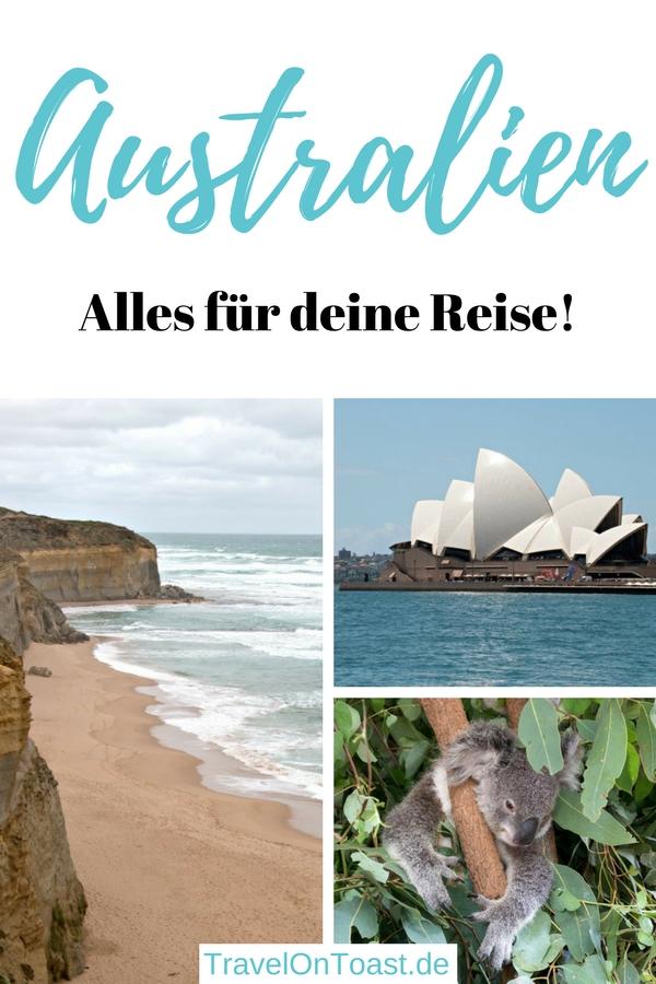 Reiseblog Australien: Artikelsammlung mit den besten Tipps zu Visum, Packliste, Langstreckenflug, Australien Route, zu den schönsten Reisezielen wie Sydney, Melbourne und Great Ocean Road, Sehenswürdigkeiten, Aktivitäten, Geheimtipps, Stränden, Hotels und Restaurants. #Australien #Reisen #Urlaub