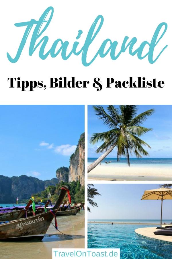 """In diesem """"Reiseblog Thailand"""" findet ihreine Artikelsammlung etwa zur Packliste Thailand, zum Langstreckenflug, für das erste Mal im Land, zu den schönsten Reisezielen, Sehenswürdigkeiten, Aktivitäten, Stränden, Hotels und Restaurants. #Thailand #Asien #Reisen #Urlaub"""