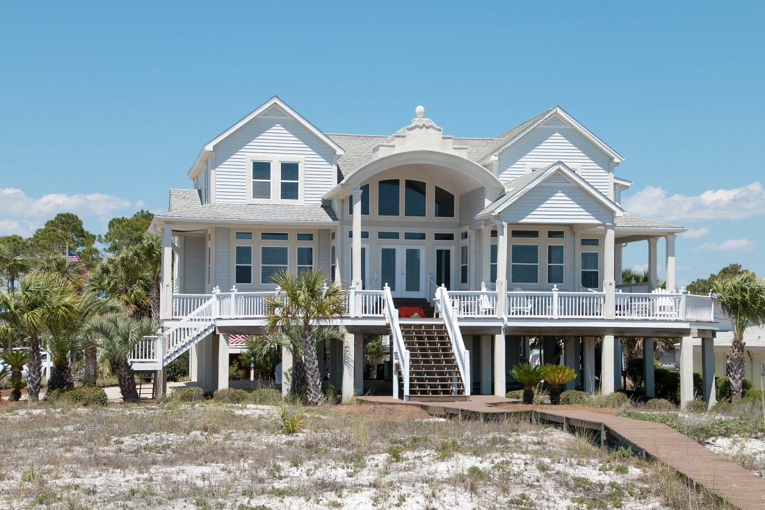 Strandhaus an der Emerald Coast in Florida