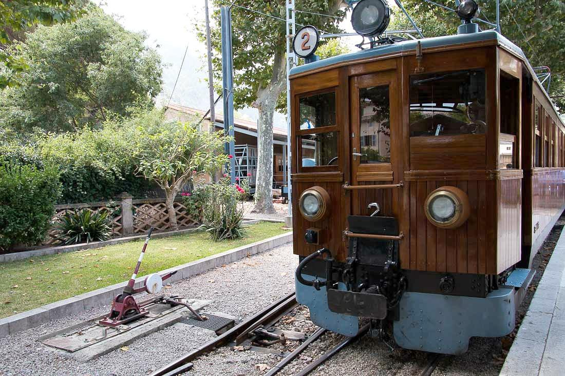 Zug von Palma nach Soller