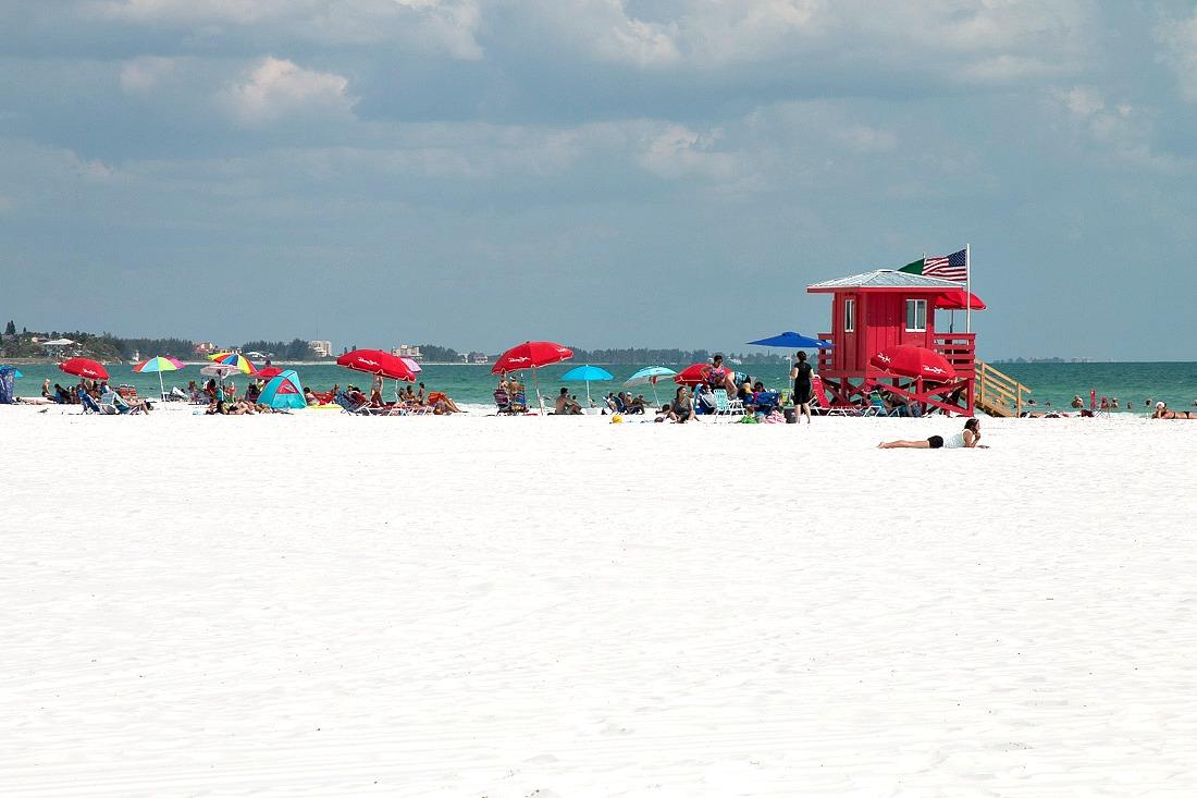 Siesta Beach bei Sarasota