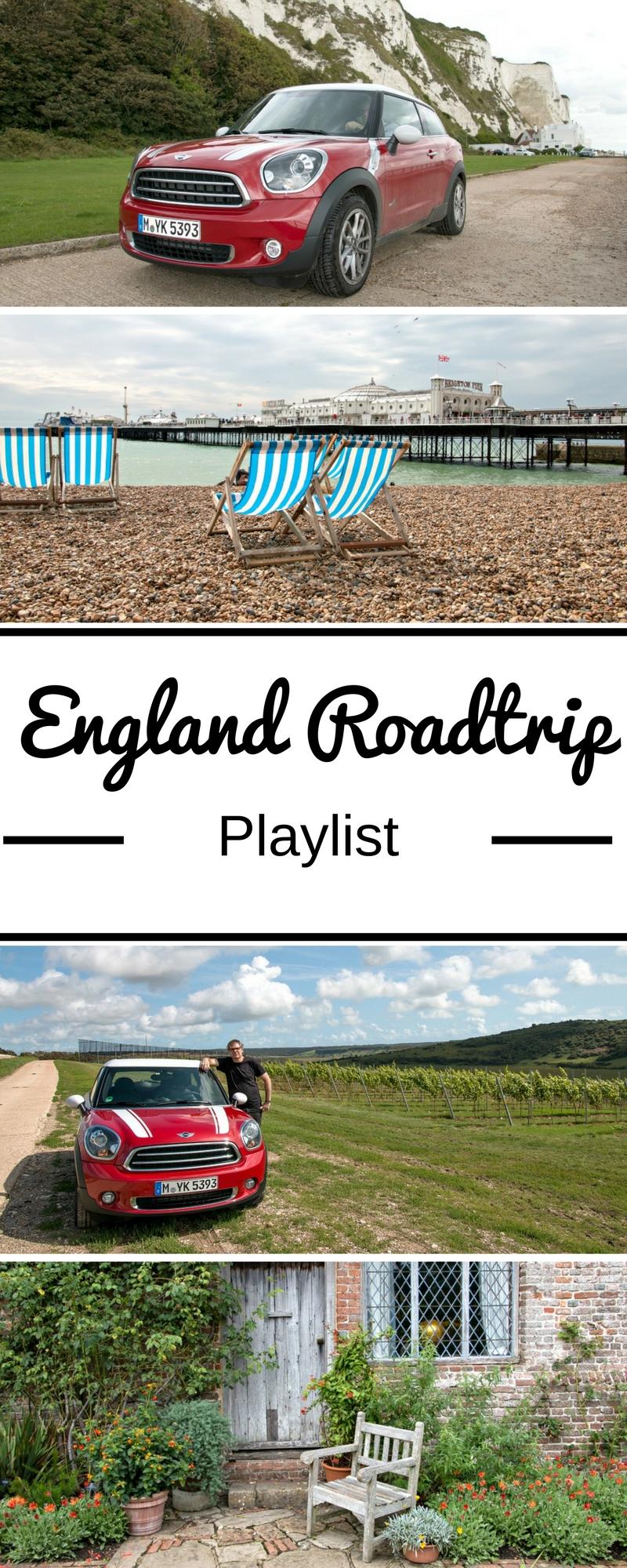 Mit dem Auto sind wir gerne in Südengland unterwegs. Ich habe eine Playlist für deinen England Roadtrip erstellt: Die Musik reicht von den Sixties über die Britpopbands der 90er bis hin zu heute. Have fun!