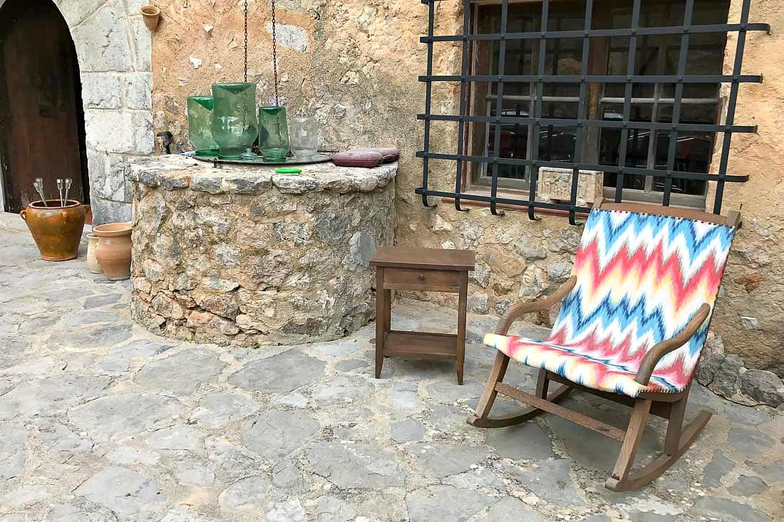 Stoffmuster aus Mallorca