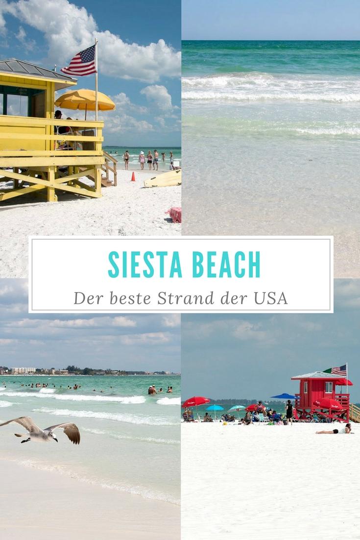 Bei Sarasota in Florida sahen wir den Strand, der laut Dr. Beach und Tripadvisor der beste Strand der USA ist: Siesta Beach. Ich erzähle dir im Reiseblog, ob sich der Besuch lohnt - mit Tipps und Fotos.