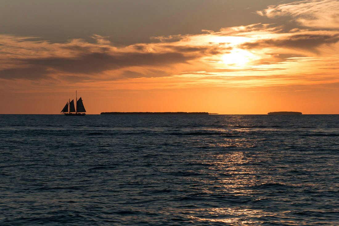 Sonnenuntergang in Key West
