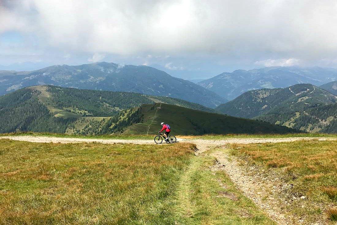 Mountainbiker in Österreich