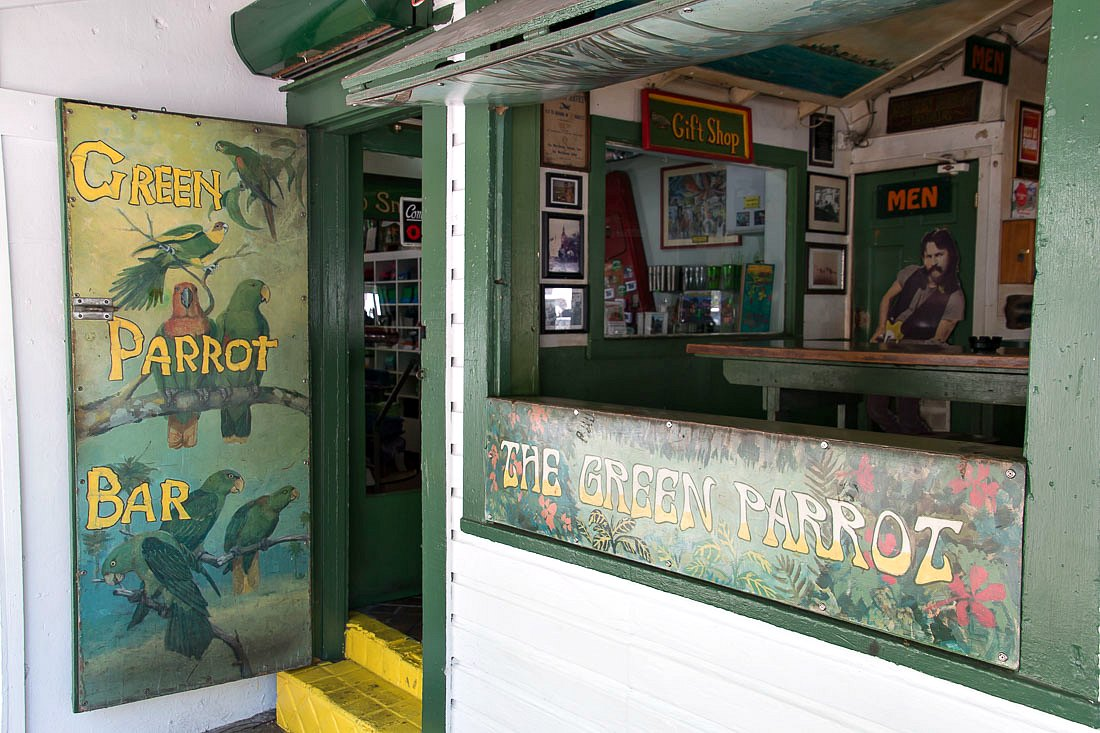 Green Parrot Bar in Key West