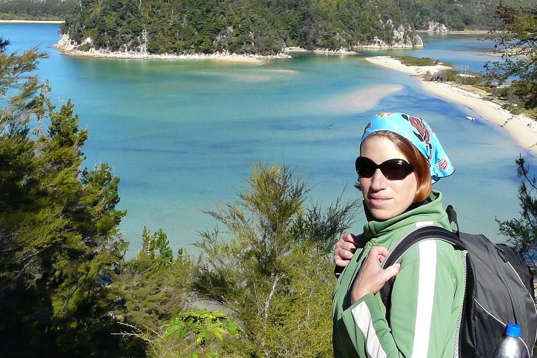 Reiseblogger Anja Beckmann in Neuseeland