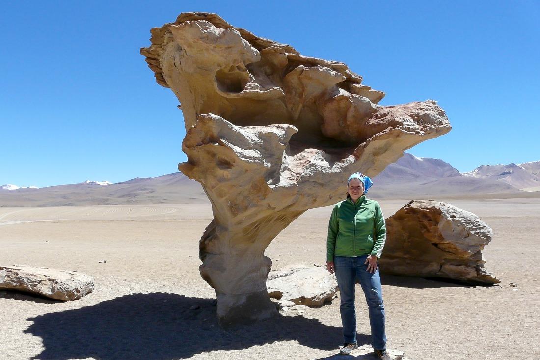 Reiseblog Weltreise - Reisebloggerin Anja in Bolivien - keine Angst vorm Reisen