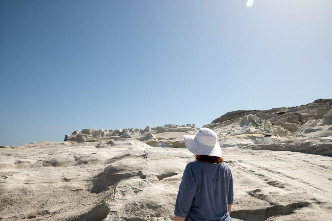 Reiseblogger Anja Beckmann auf Milos