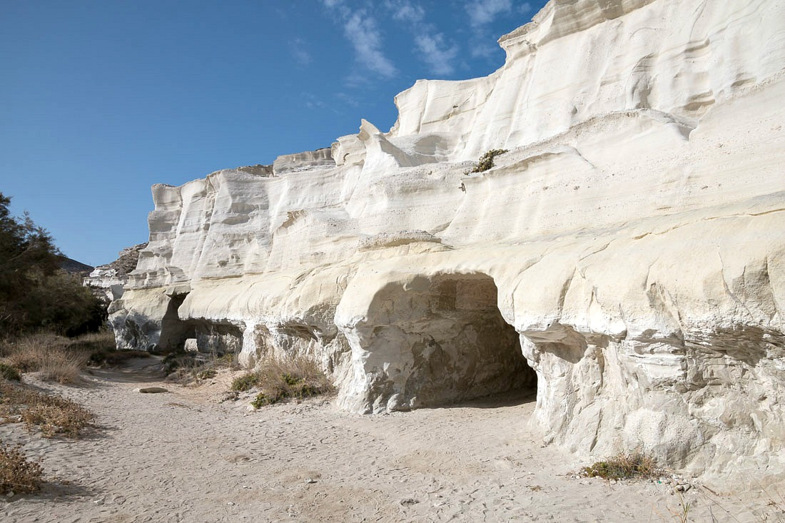 Höhlen bei Sarakiniko