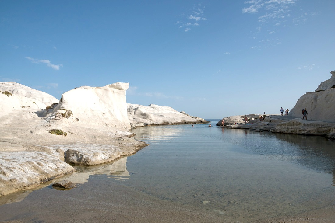 Sarakiniko Strand