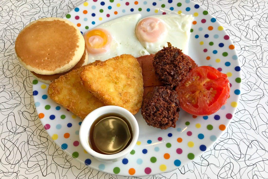 Veggie American Style Breakfast