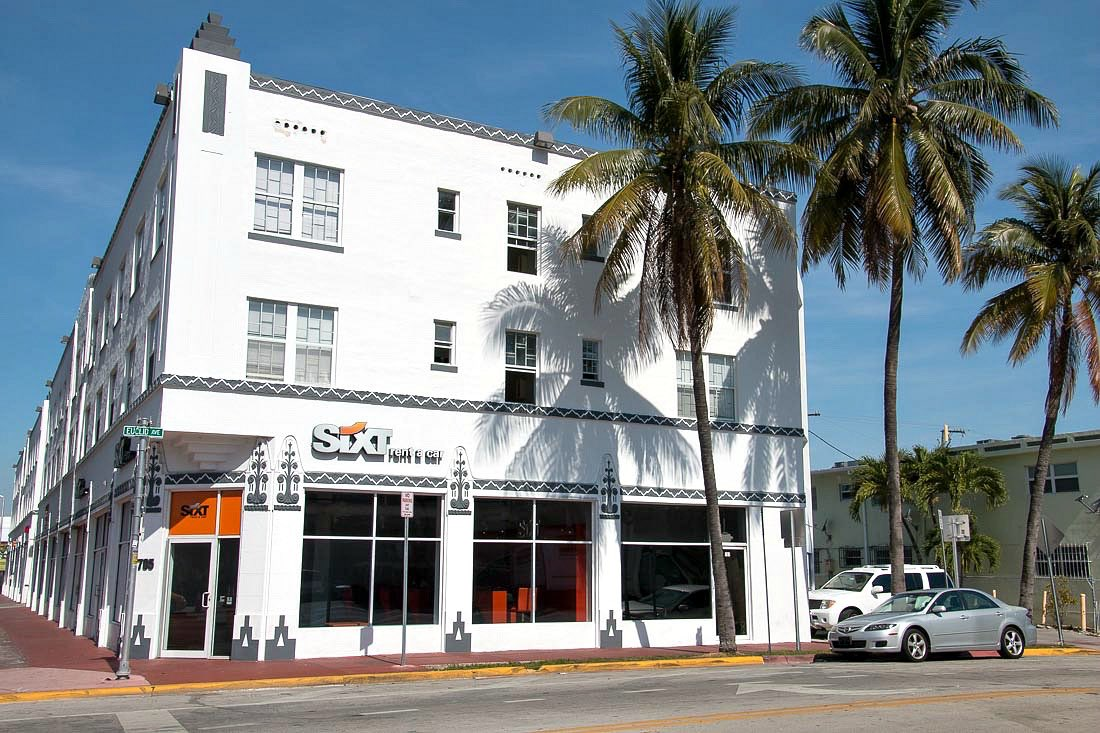 Sixt Station in Miami