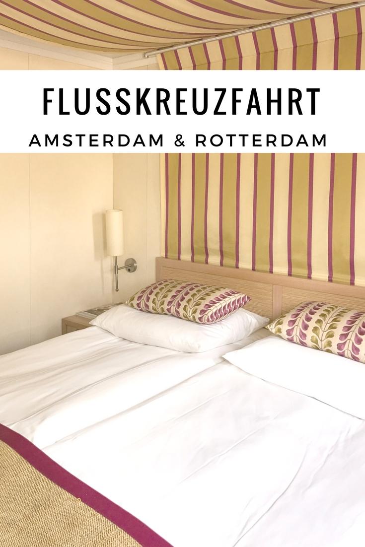(Werbung) A-Rosa Flusskreuzfahrt Rhein - mit Amsterdam, Rotterdam & Brügge #arosabloggercruise #Flusskreuzfahrt #Kreuzfahrt #Holland #Amsterdam #Rotterdam