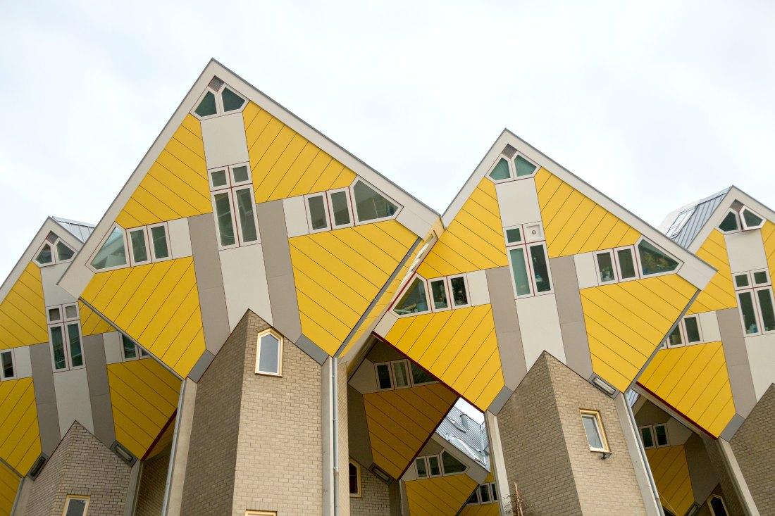 Kubushäusern in Rotterdam