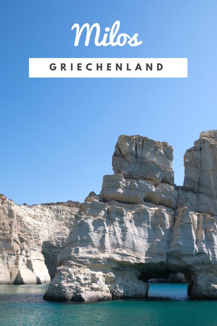 Milos Schiffstour (Griechenland): An einem Tag rund um die Insel #Griechenland #Milos #Reiseblog #Reiseblogger