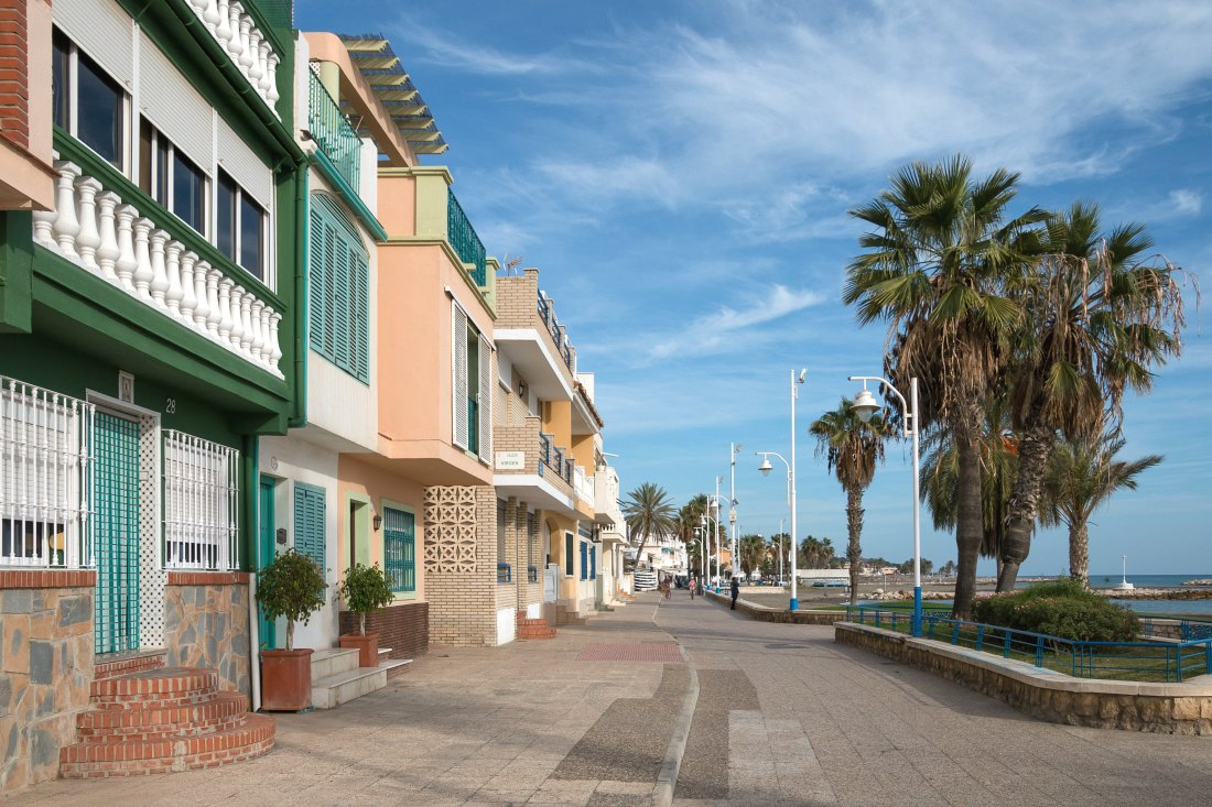Malaga in Andalusien