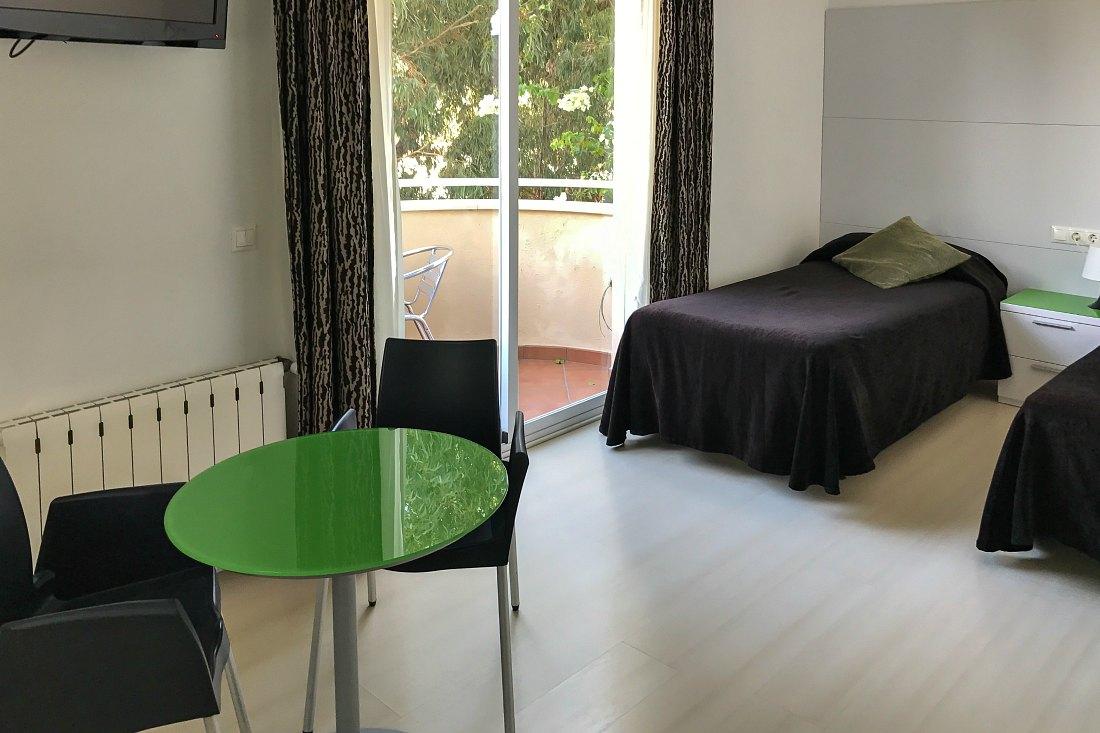 Zimmer in der Sprachschule Malaga