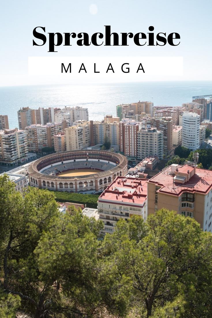 (Werbung) Sprachreise Malaga mit Strand, Pool & Tapas