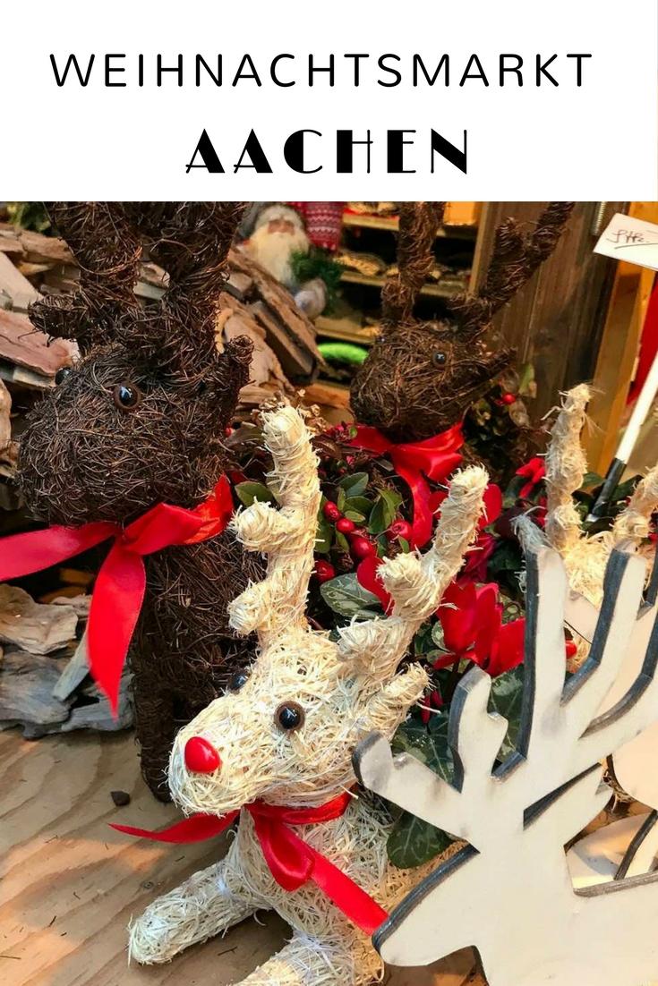 Der Weihnachtsmarkt Aachen ist einer der schönsten in Europa und einer der größten in Deutschland. Ich erzählte euch vom Markt, mit vielen Bildern. #Aachen #Deutschland #Weihnachtsmarkt #ChristmasMarket #Weihnachten #Reiseblogger