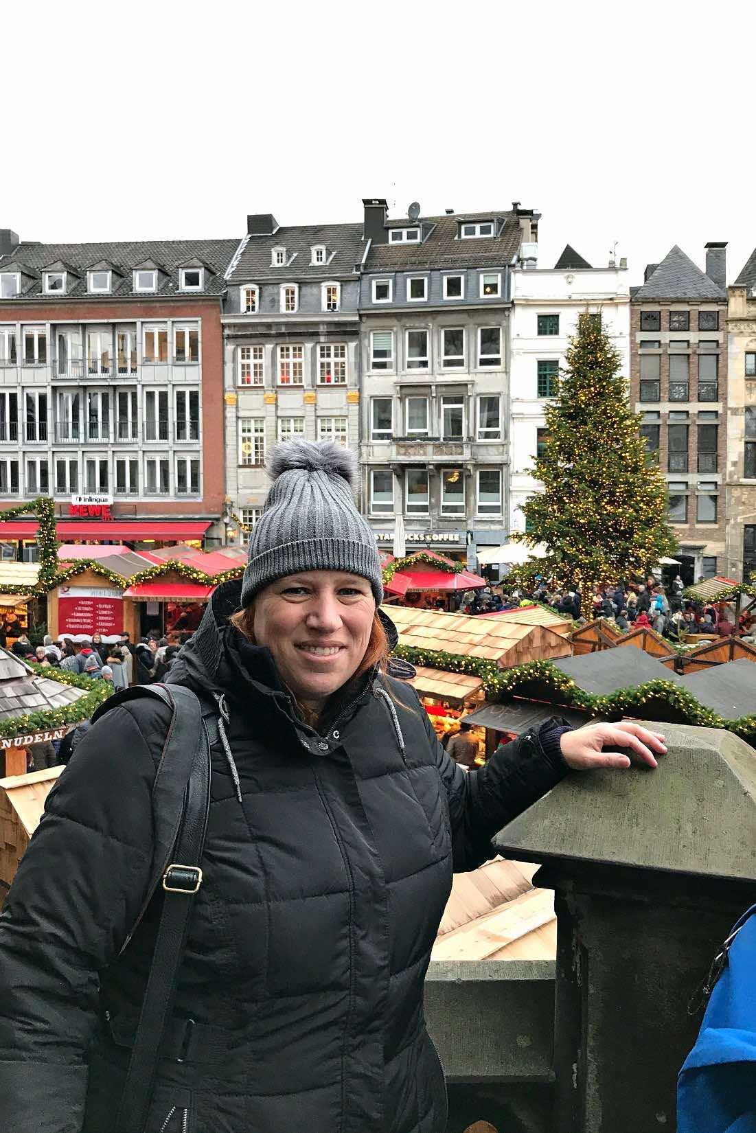 Reiseblogger Anja in ihrer Geburtsstadt A