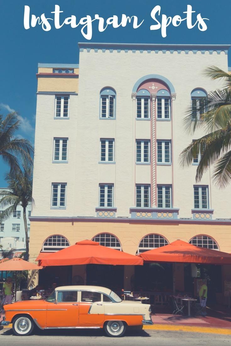 Art Deco District in Miami Beach: Suchst du noch nach Inspiration für deinen nächsten Urlaub? Ich stelle dir 15 traumhafte Reiseziele für Europareisen und Fernreisen vor. #Urlaub #Reise #Europareise #Fernreise