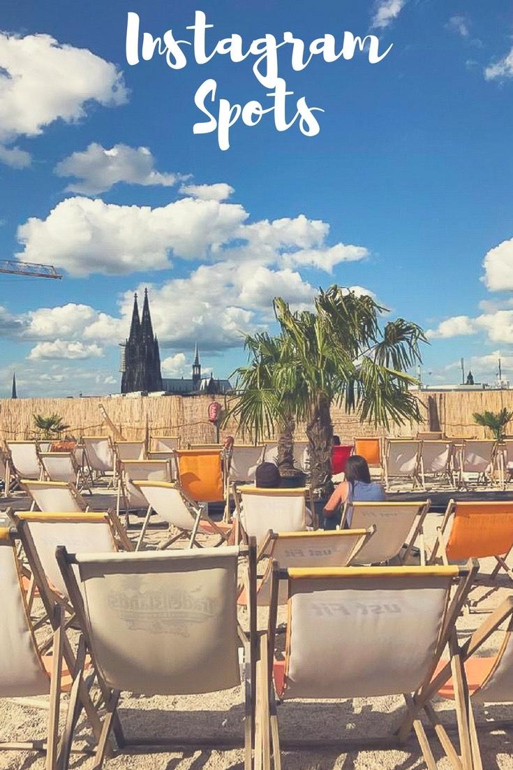 Beachbar mit Domblick in Köln: Suchst du noch nach Inspiration für deinen nächsten Urlaub? Ich stelle dir 15 traumhafte Reiseziele für Europareisen und Fernreisen vor. #Urlaub #Reise #Europareise #Fernreise