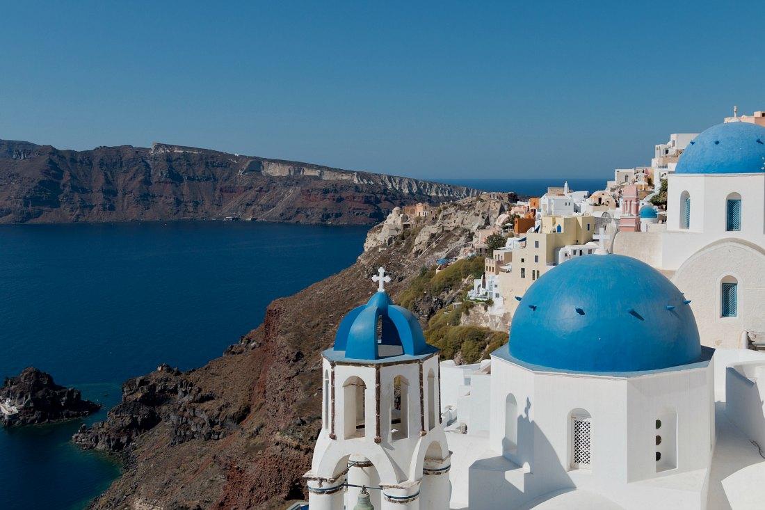 Instagram Hotspots Santorin in Griechenland