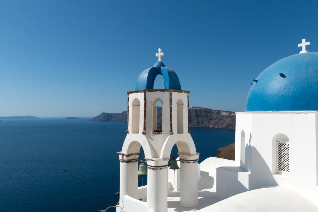 Santorini in Griechenland