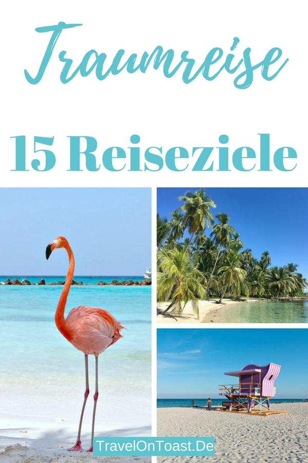 Suchst du noch nach Inspiration für deinen nächsten Urlaub? Ich stelle dir 15 traumhafte Reiseziele für Europareisen und Fernreisen vor. #Urlaub #Reise #Europareise #Fernreise