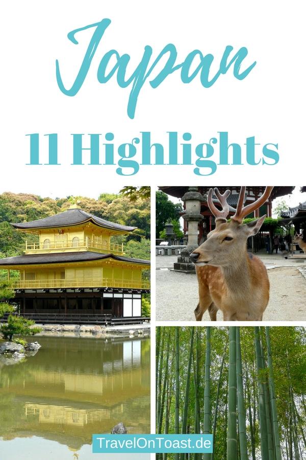 (Werbung) 11 Japan Highlights: Die schönsten Sehenswürdigkeiten wie Tempel, Geishas, Sumo Ringer und Onsen in Städten wie Tokio, Kyoto und Nara #Japan #Asien #Fernreise