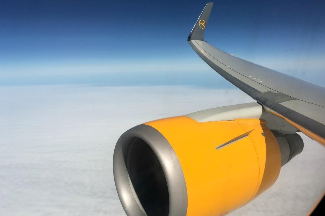 Flug mit Condor von Frankfurt nach New Orleans