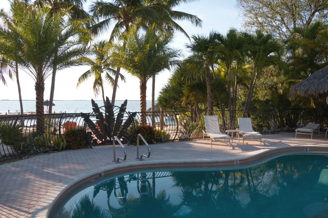 Hoteltipp Key Largo, Florida: Pool des Kona Kai Resort