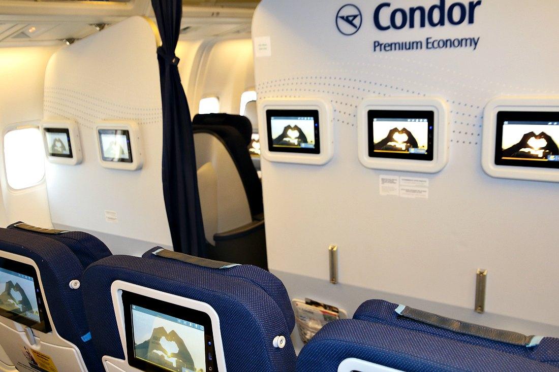Premium Economy Class bei Condor