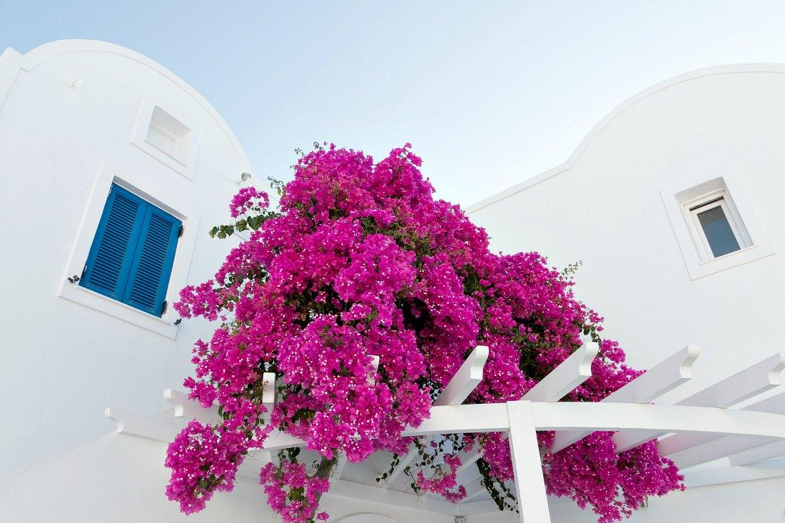 Farben von Santorini