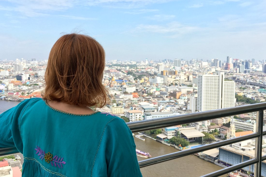 Reiseblogger Anja Beckmann in Bangkok, Thailand