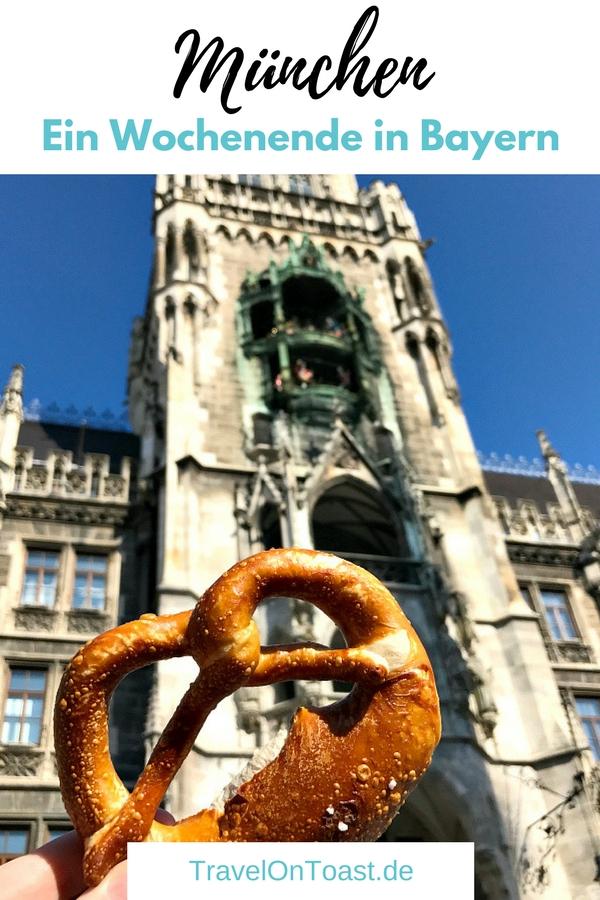 Die schönsten Sehenswürdigkeiten für ein Wochenende in München, Bayern: Marienplatz, Viktualienmarkt und als Highlight die Surfer auf der Eisbachwelle. #München #Bayern #Deutschland #Städtereise