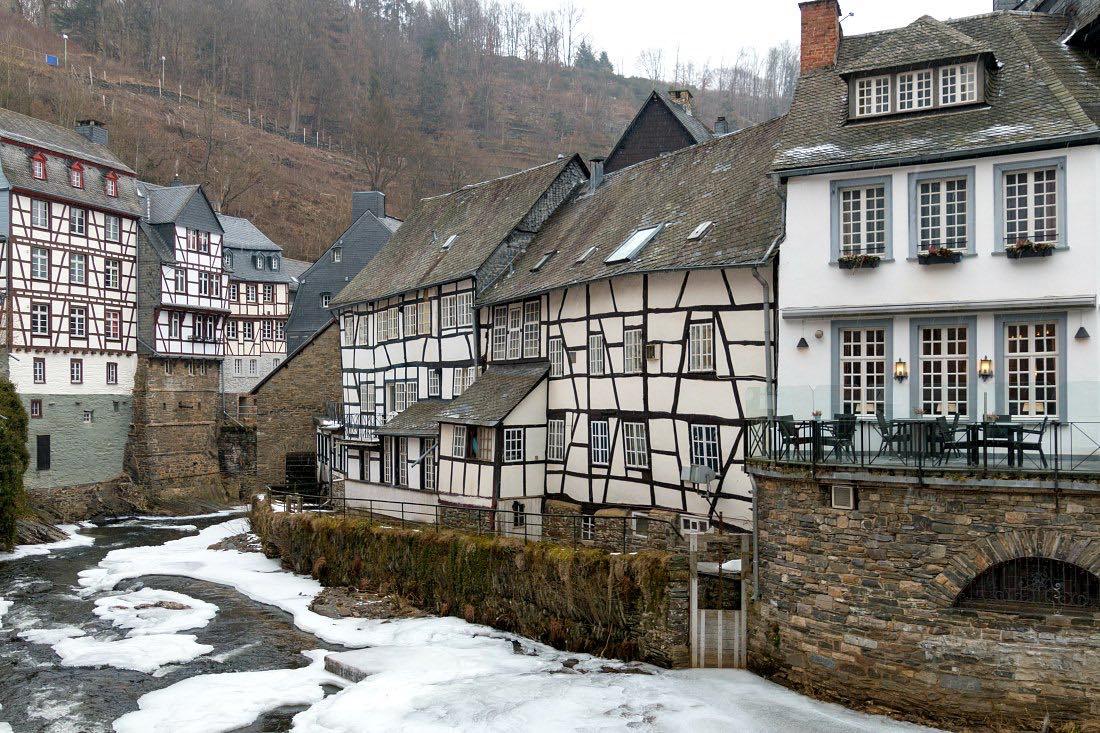 Monschau: Mittelalterliches Stadtzentrum