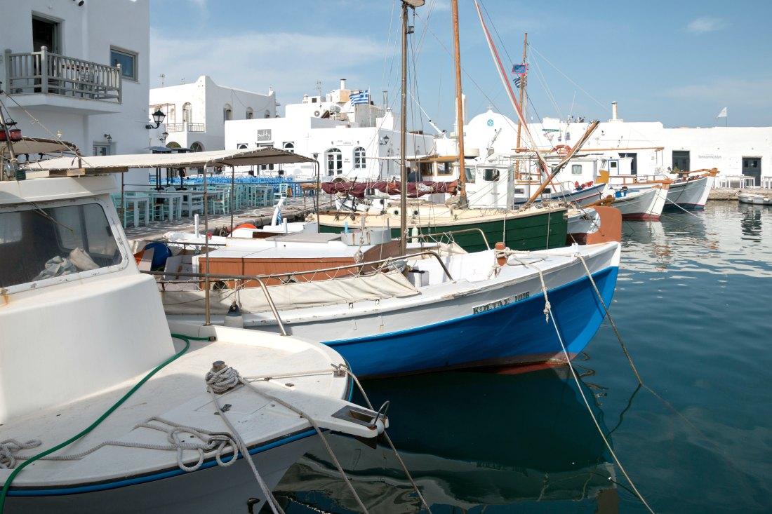 Naoussa auf Paros in Griechenland