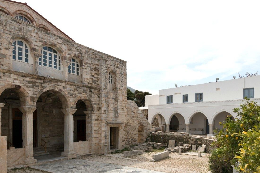 Kirche Panagia Ekatontapyliani auf Paros Griechenland