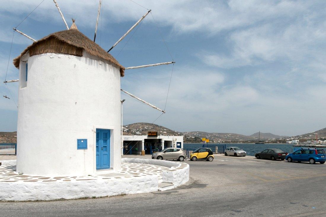 Fähranleger auf Paros