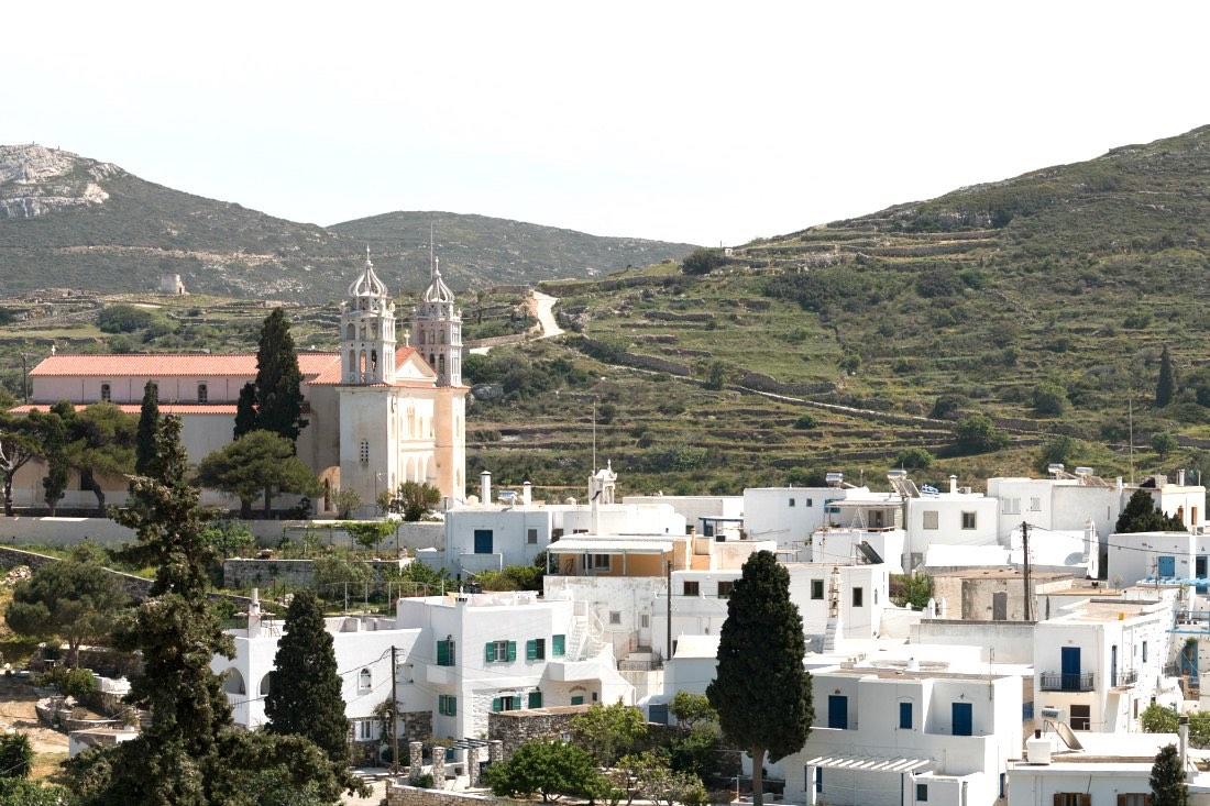 Bergdorf Lefkes auf Paros Griechenland