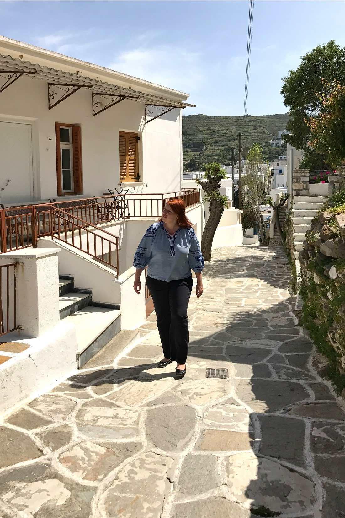 Reiseblogger in Griechenland