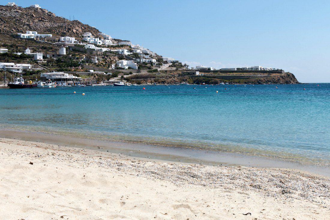 Strände auf Mykonos: Ornos Beach