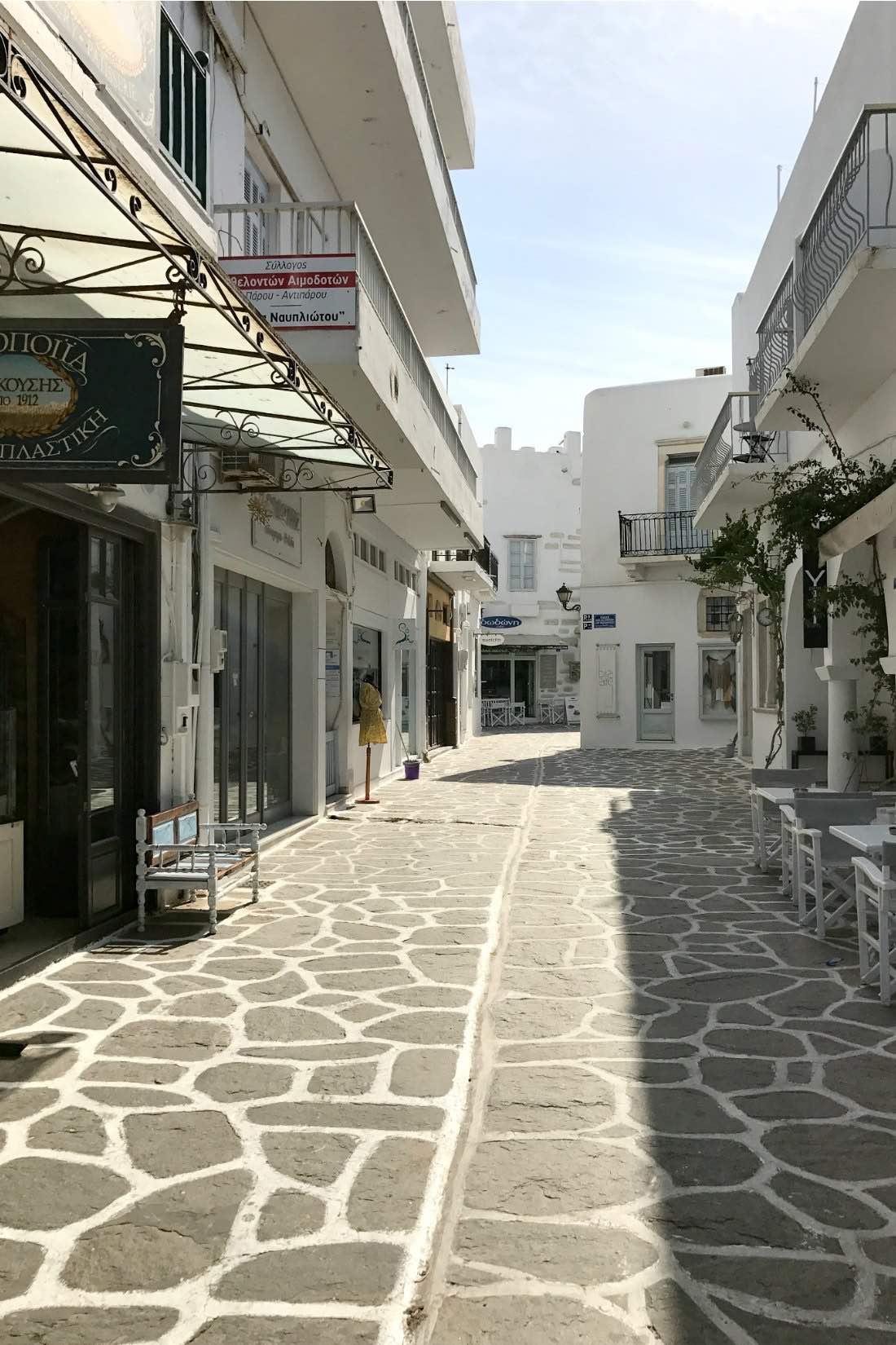 Paros Altstadt von Parikia
