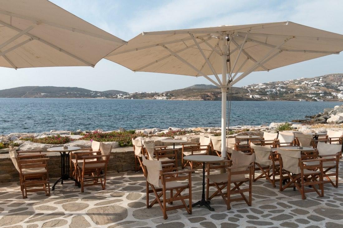 Cafés auf Paros Griechenland