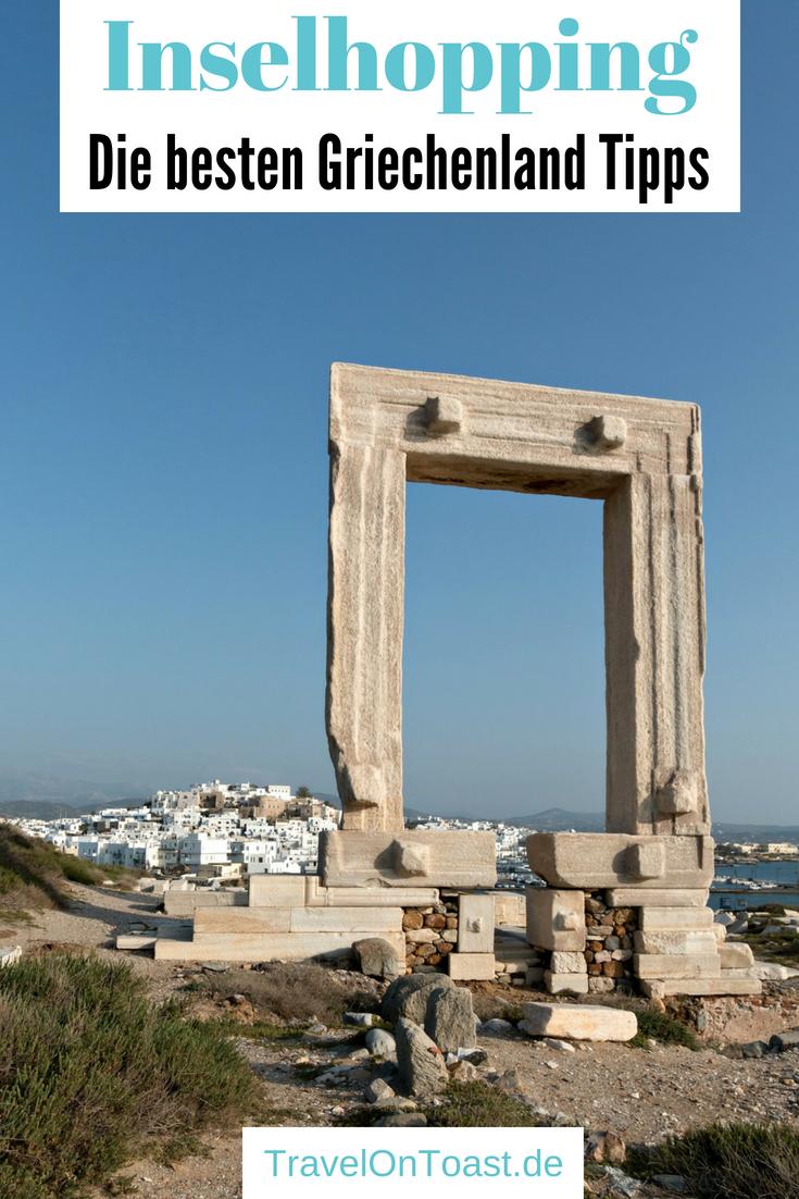1 Woche Inselhopping Griechenland mit Naxos, Paros und Mykonos. Das Kykladen Inselhüpfen habe ich selber organisiert. Hier kommen die besten Tipps zur Route, zu Kosten, Flug, Fähren, Hotels und den schönsten Sehenswürdigkeiten. So stelle ich euch 5 Kykladeninseln im Kurzporträt vor, darunter Santorini und Milos. #Griechenland #Kykladen #Inselhopping #Inselhüpfen #Naxos #Paros #Mykonos #Santorini #Santorin #Milos #Urlaub #Reise #Reisen